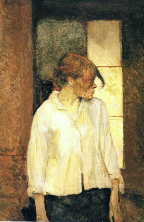 Toulouse-Lautrec, Carmen Gaudin At Montrouge, 1886-87.