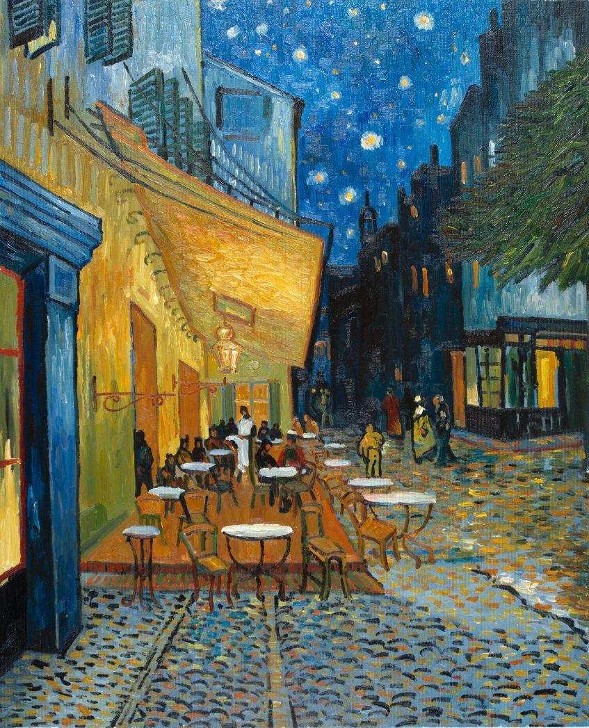 Cafe Terrace at Night, 1888, Vincent Van Gogh