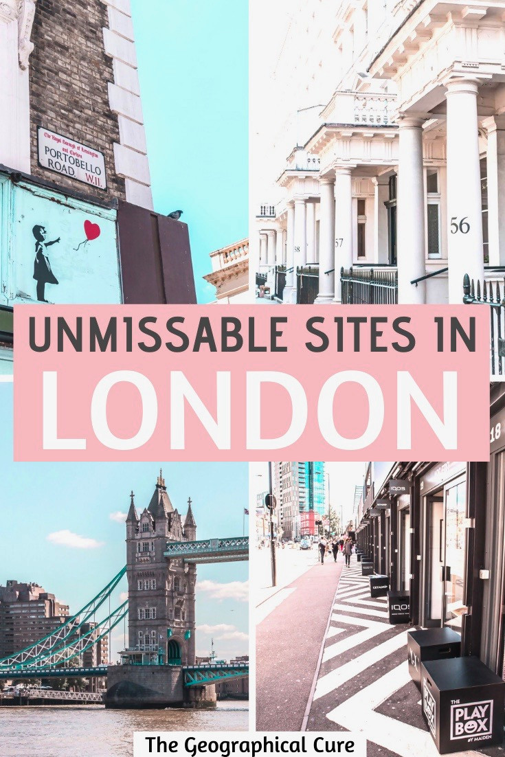 Unmissable Sites in London: a 5 Day itinerary