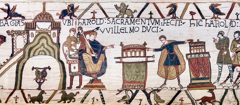 detail of the Bayeux Tapestry