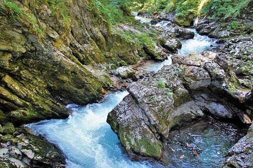 Vintgar Gorge, 15 minutes from Lake Bled