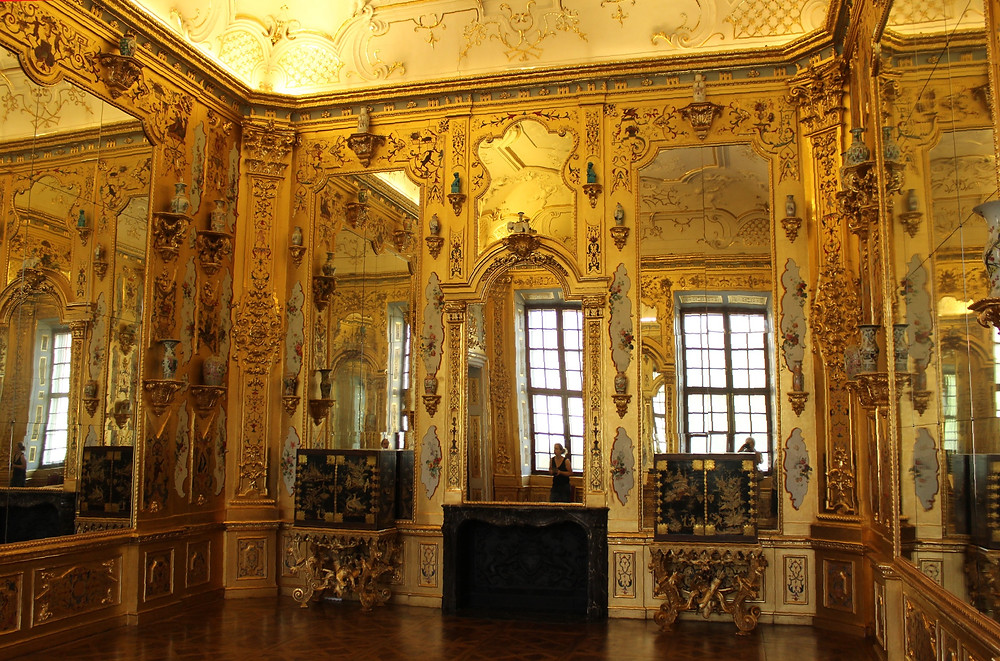 the Golden Room in the Lower Belvedere Palace