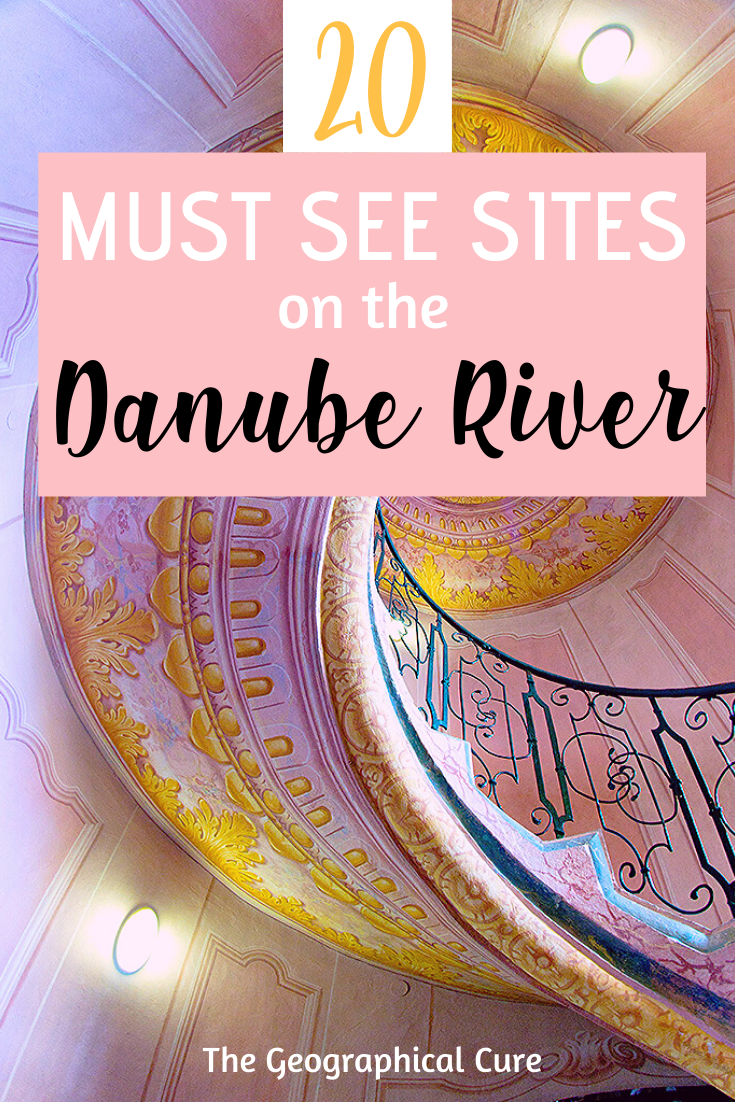 20 must see sits on the Danube River -- through Hungary, Austria, Slovakia, and Germany