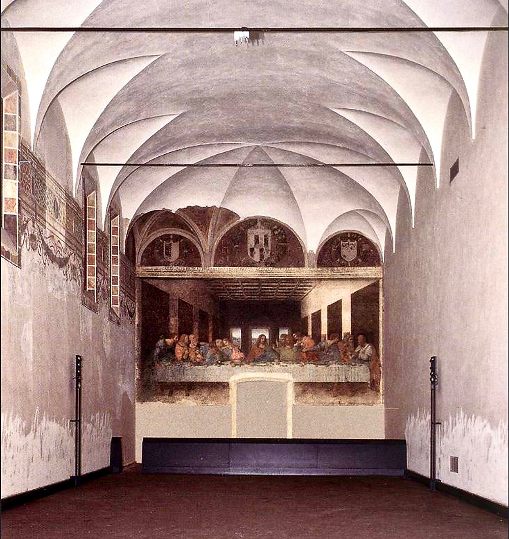 the Refectory that houses The Last Supper