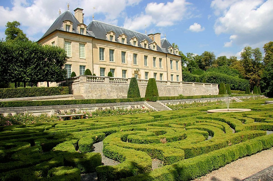 the Chateau d'Auvers-sur-Oise