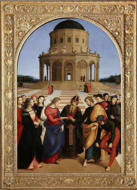 Raphael, the Marriage of the Virgin, 1504