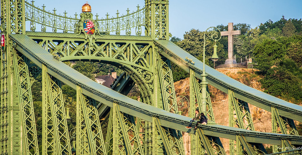 detail of the pretty Liberty Bridge
