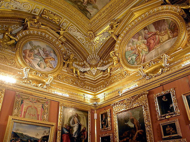 Palatine Gallery in the Pitti Palace