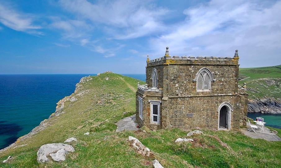 Doyden Castle In Cornwall