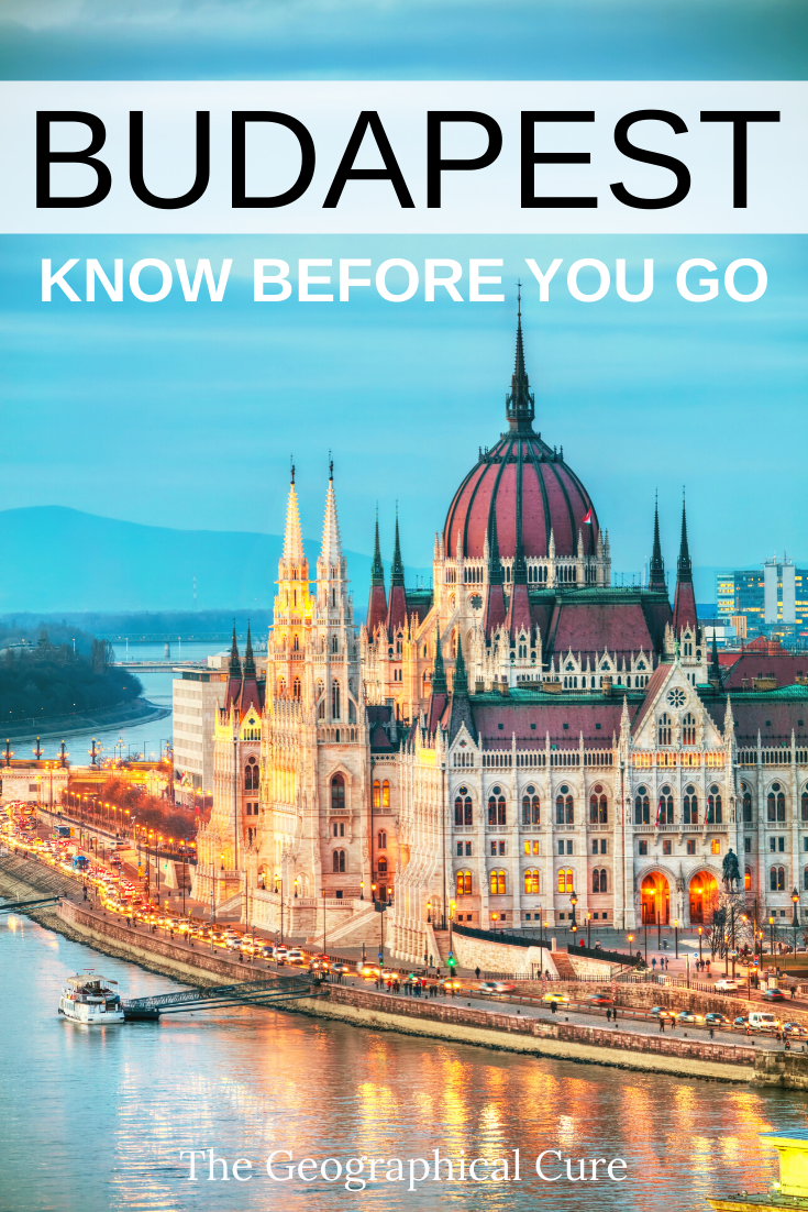 Tips for Budapest, what you should know before you go