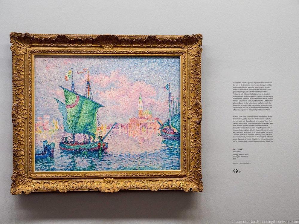 Paul Signac, The Pink Cloud, 1909