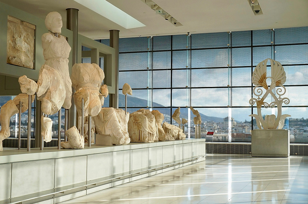 gallery in Athen's Acropolis Museum