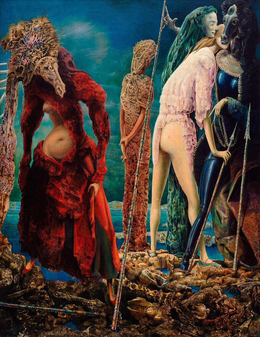 Max Ernst, The Antipope, 1942, at the Peggy Guggenheim Collection in Venice