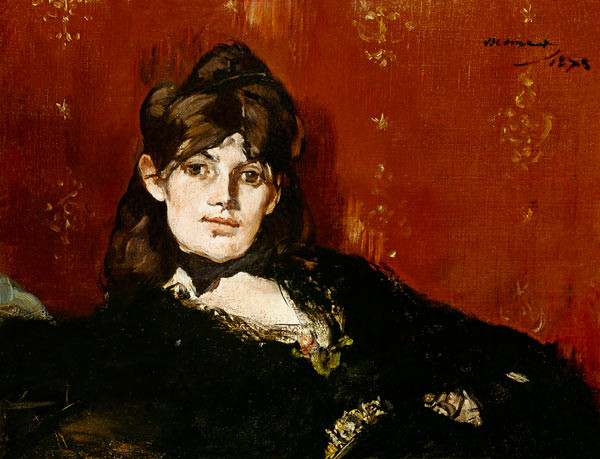 Edouard Manet, Berthe Morisot Reclining, 1873