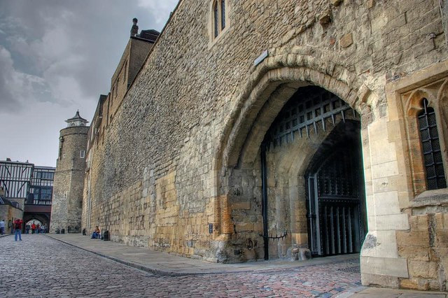 entrance to the Bloody Tower