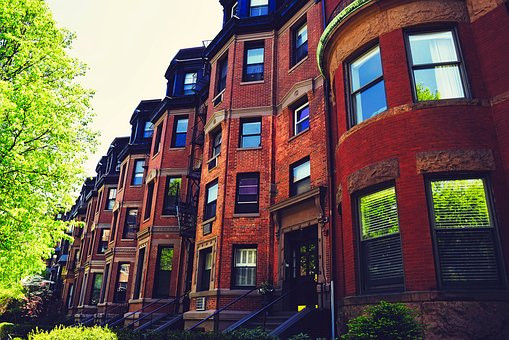 the flowing Victorian row houses in the culturally rich neighborhood of the South End in Boston