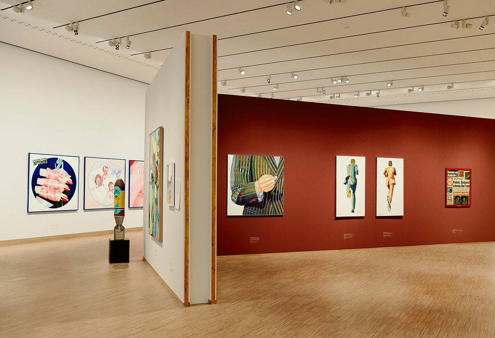 gallery in the Albertina Modern