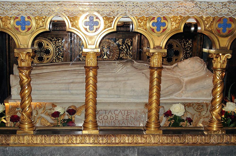 Tomb of St. Catherine of Siena