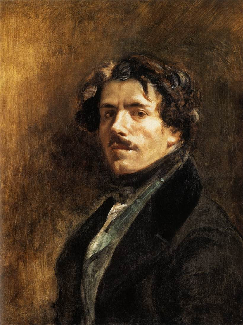 Théodore Gericault, Self Portrait, 1820