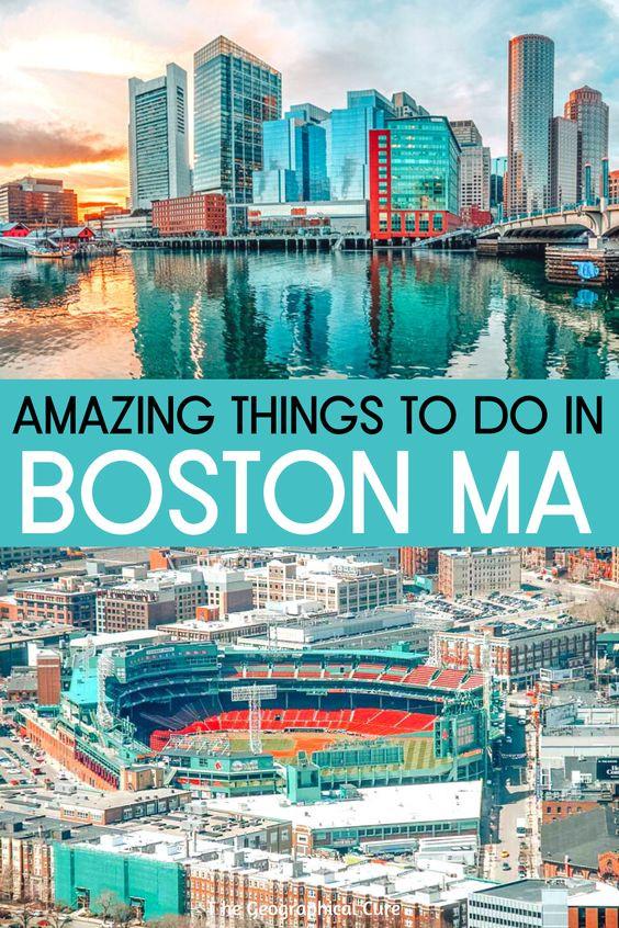 3 Day Itinerary for Boston Massachusetts