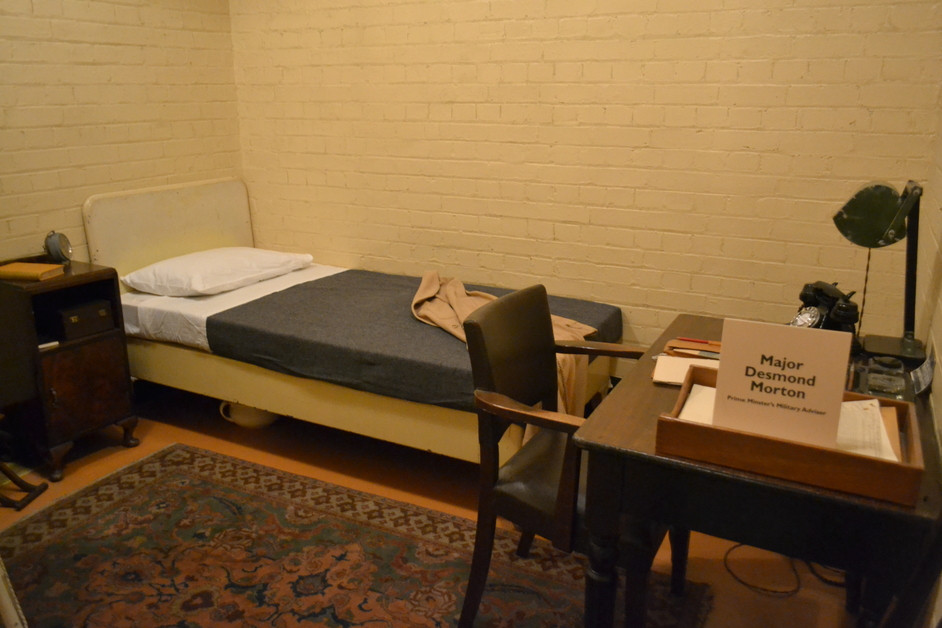 an officer's bedroom in the cabinet war rooms