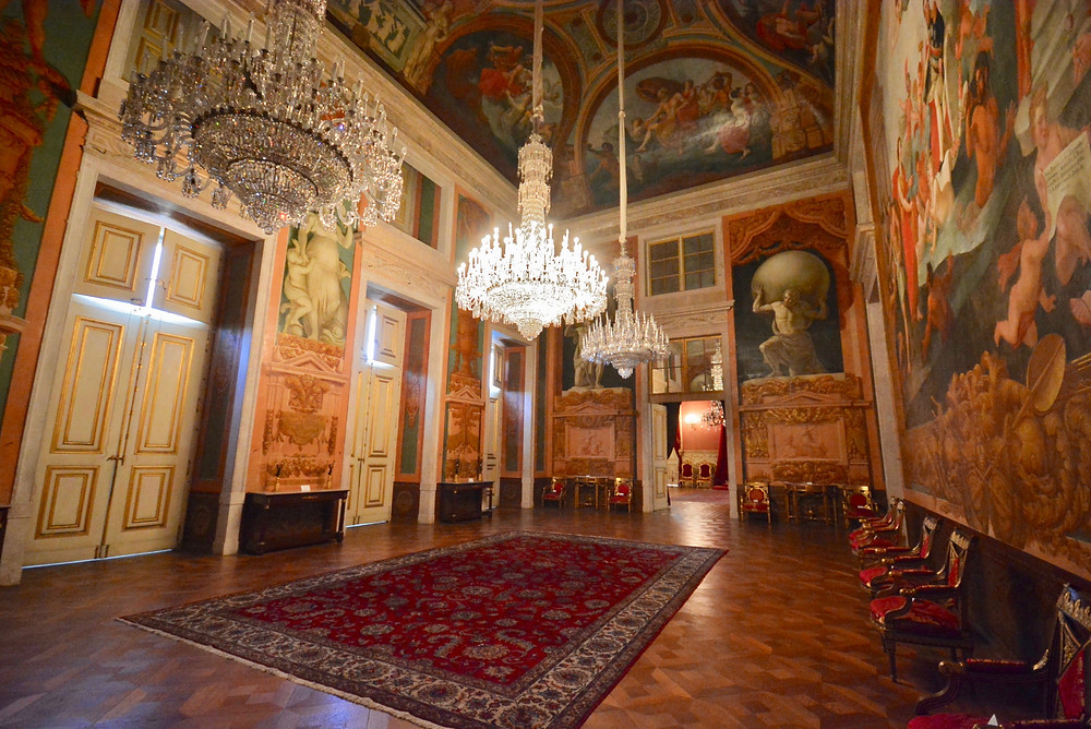 the Grand Waiting Room of Adjuda Palace