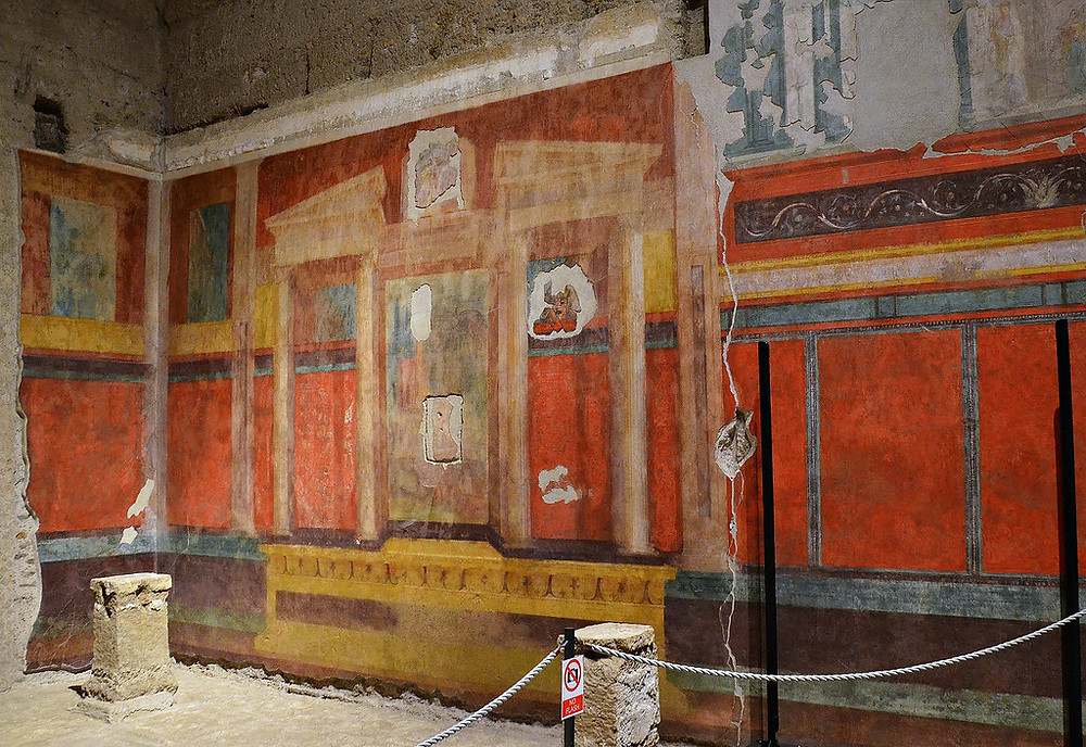 frescos in Augustus' House on Palatine Hill