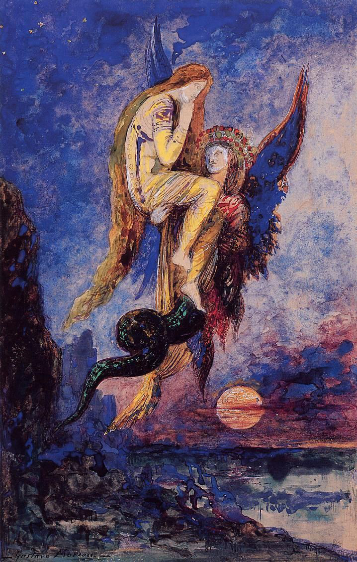 Gustave Moreau, Chimera, 1884, at the Gustave Moreau Museum in Paris