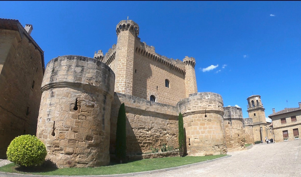 Castillo de Sajazarra outside Haro