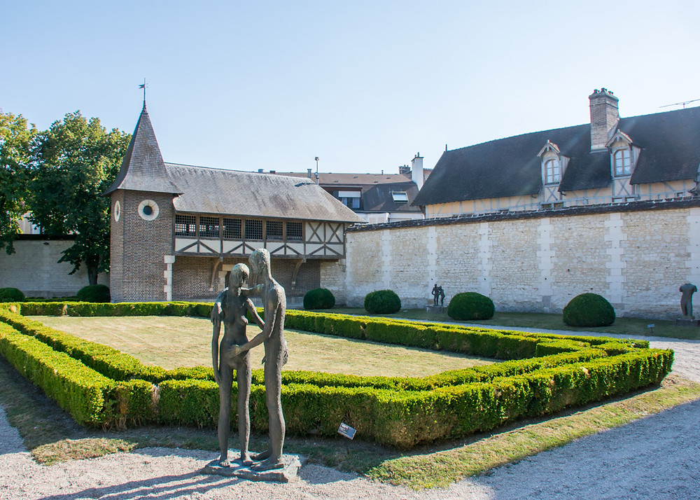 Musee d'Art Moderne in Troyes France