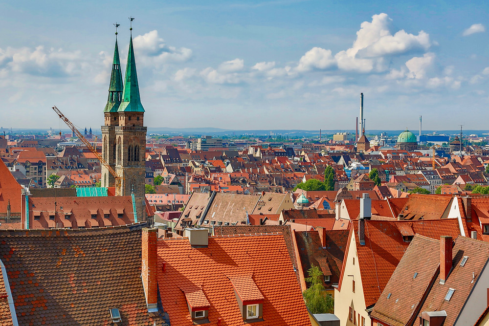 great views from Nuremberg Castle -- the best viewpoint in the city and an unmissable site