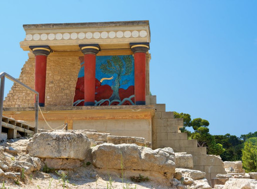 The Knossos Palace Archeological Site in Crete: Is It a Ruined Ruin?