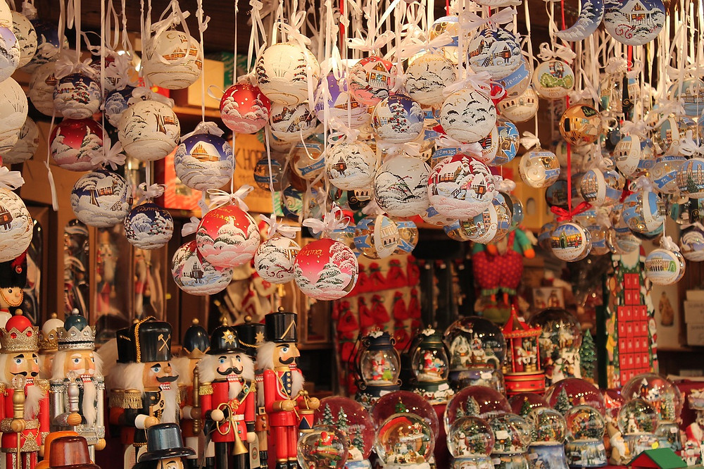 goodies at a Vienna Christmas market