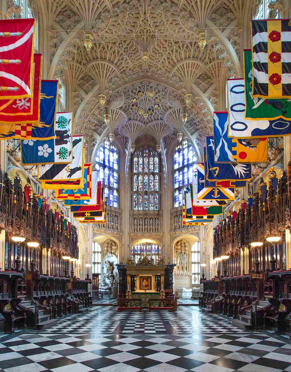 the Henry VII Lady Chapel of Westminster Abbey