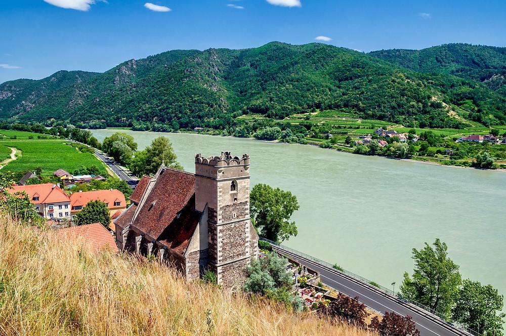 St. Michael Kirche in the Wachau Valley