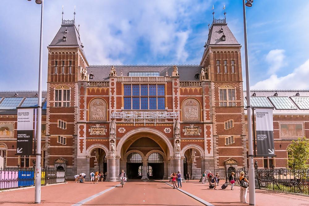 the venerable Rijksmuseum in Amsterdam