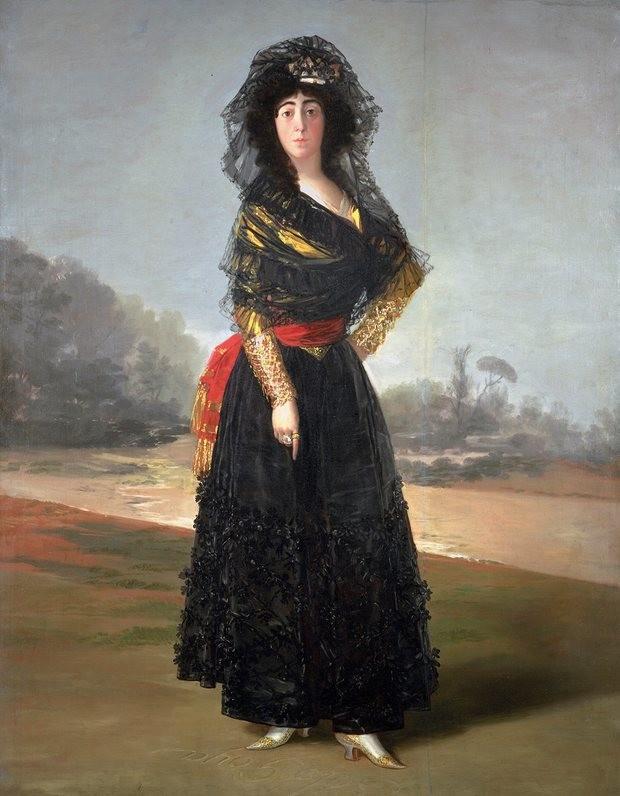 Francisco Goya, The Duchess of Alba, 1797