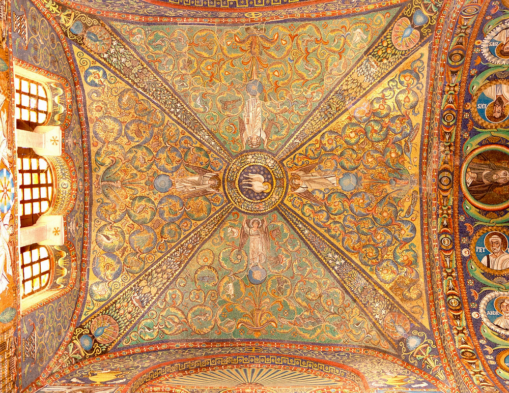 mosaics in San Vitale