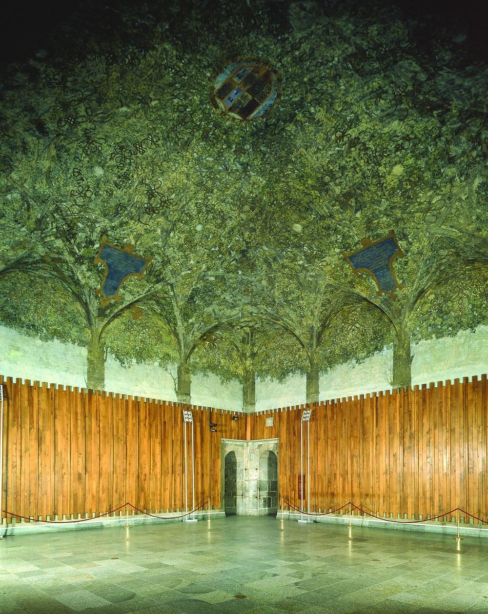 Sala delle Asse, image by Sforza Castle via wikimedia