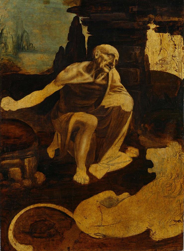 Leonardo da Vinci, St. Jerome, 1482