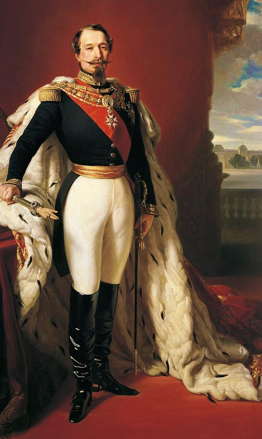 Franz Xaver Winterhalter, Portrait of Napoleon III