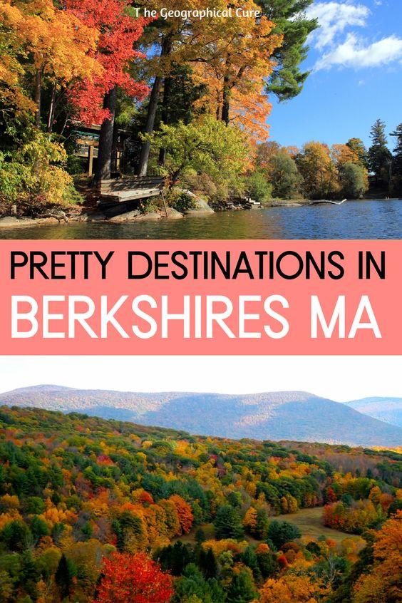 Pretty Destinations in the Berkshires Massachusetts