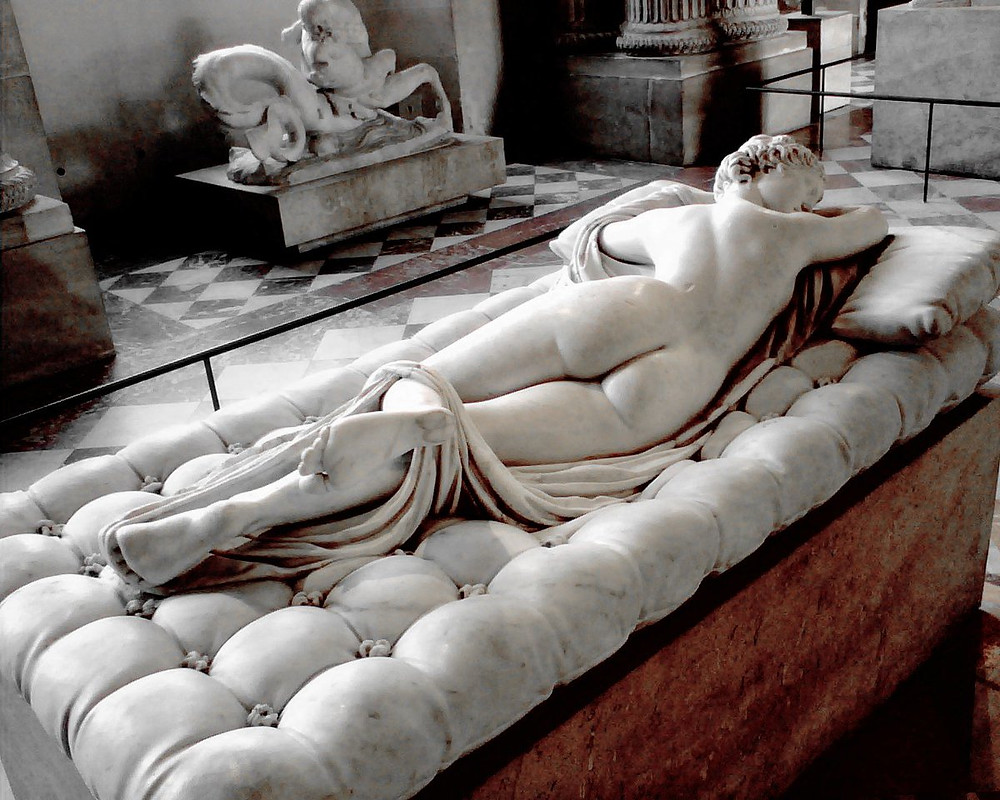 Sleeping Hermaphrodite, 1st to 3rd century B.C.