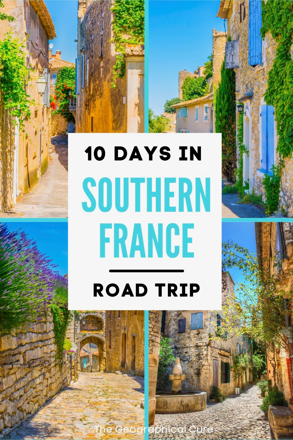 10 Day Road Trip Itinerary for Southern France