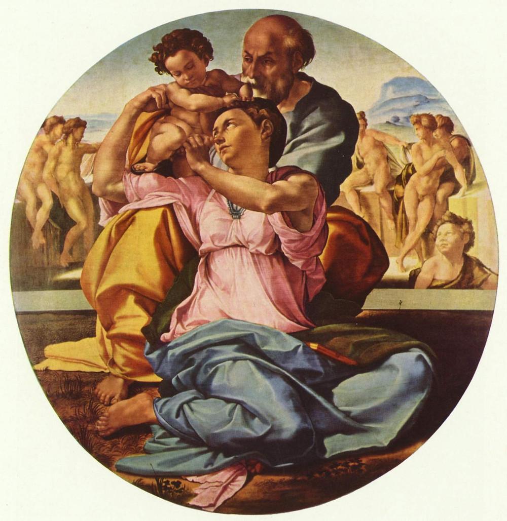 Michelangelo, Doni Tondo, 1505-06
