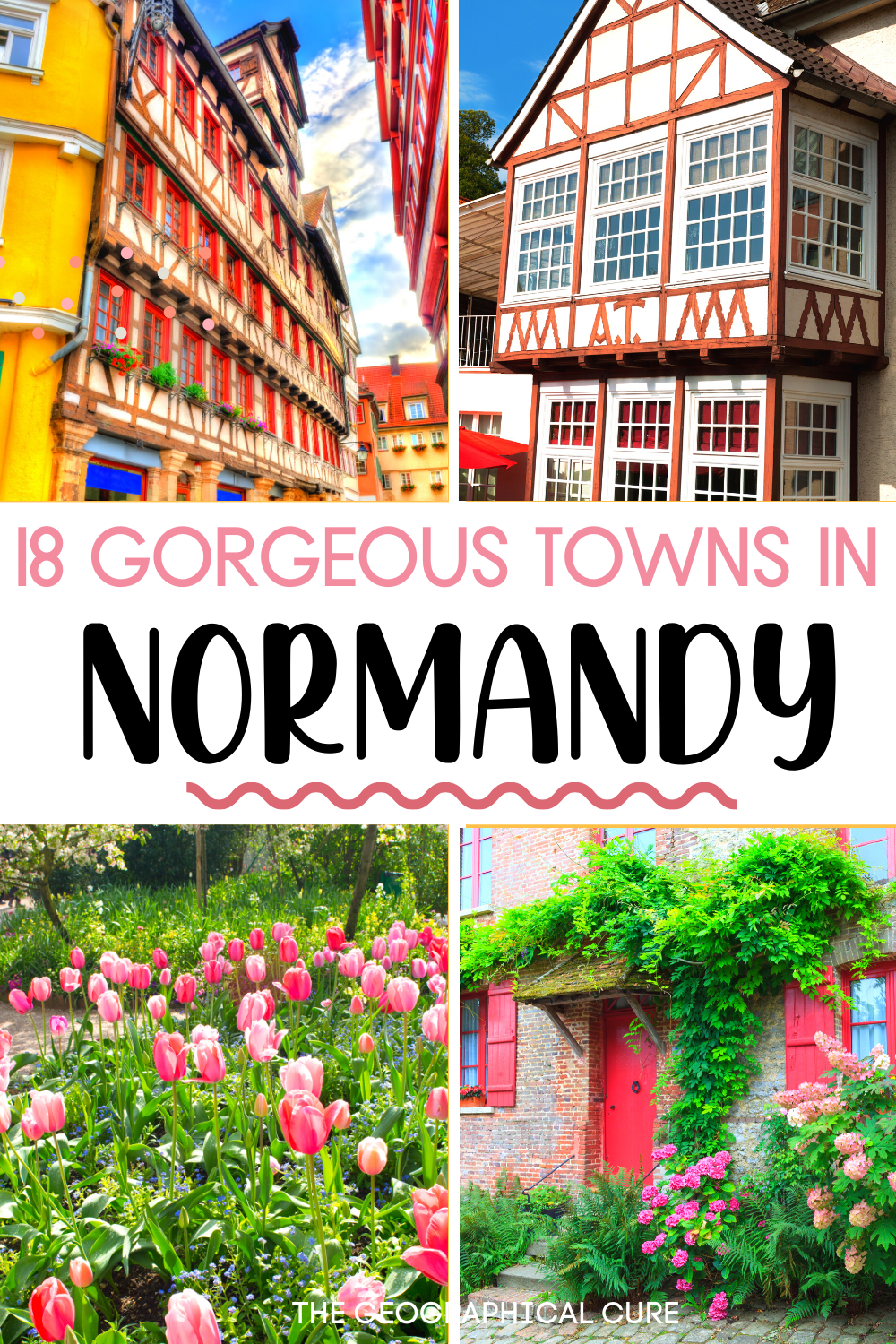 guide to Normandy's prettiest towns