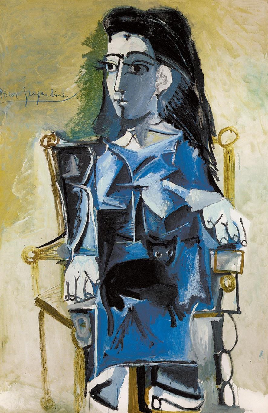 Picasso portrait of Jaqueline