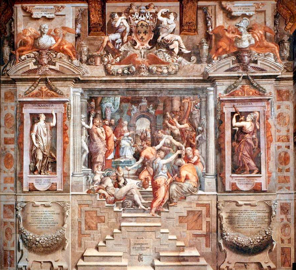 Giorgio Vasari frescos in the Palazzo della Cancellaria