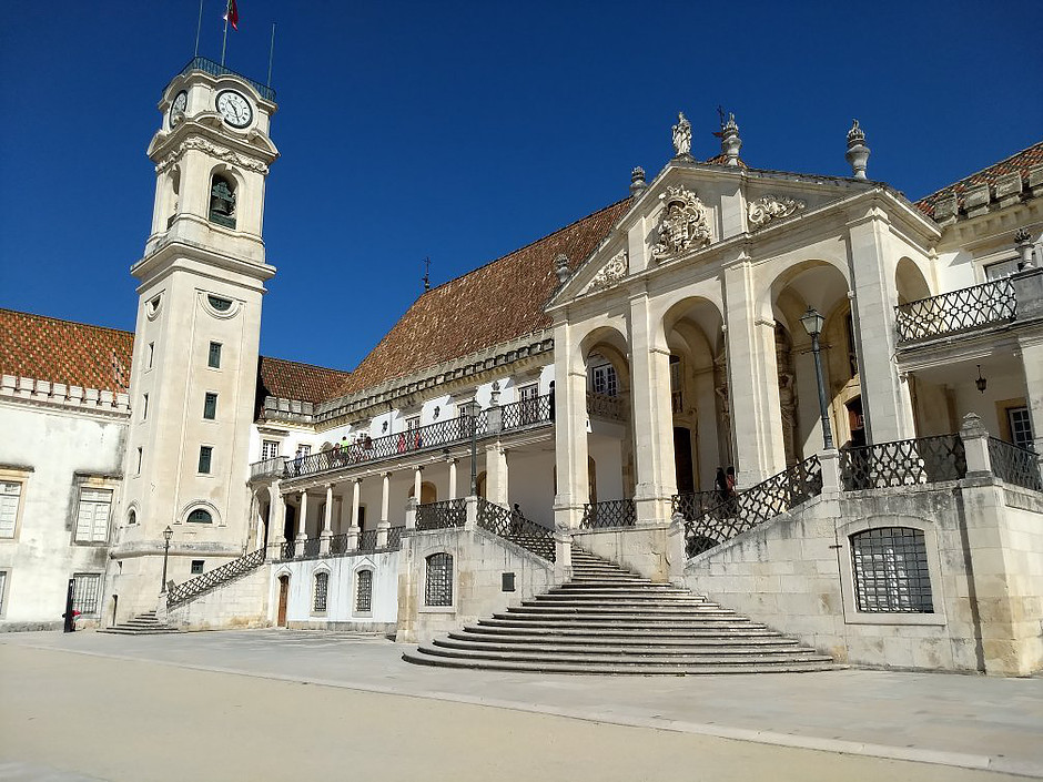 the Royal Palace and Tower of Coimbra University