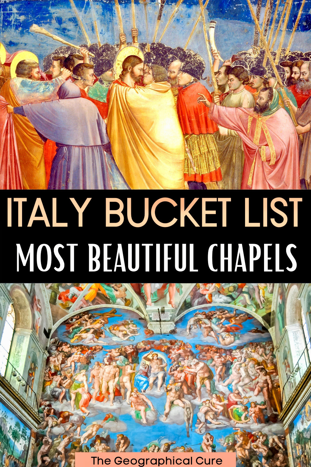 guide to Italy's most beautiful chapels